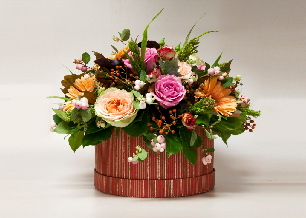 Autumn Hat Box